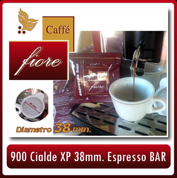 Dettagli su Cialde CAFFE FIORE 38 mm di diametro 900 Miscela ESPRESSO